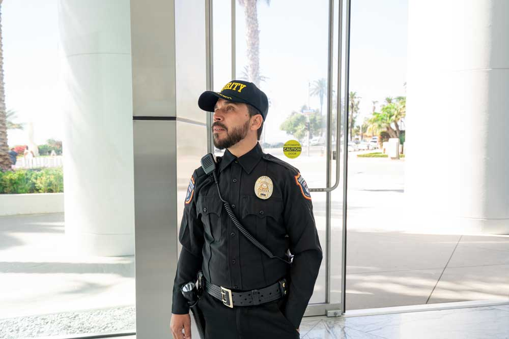Unarmed Guards